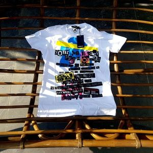 DSQUARED2 White Short Sleeve Cotton T shirt